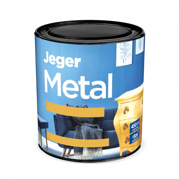 Meubelverf Zilververf Metal Jeger